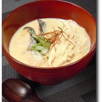 白菜の豆乳煮 カレー風味