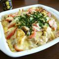 【簡単レシピ】焼肉ダレde鶏肉とじゃが芋のチーズ焼き♪ by bvividさん