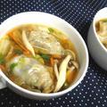 【レシピ】 (リメイク!)余ったぎょうざで スープぎょうざ(^^♪ by ☆s4☆さん