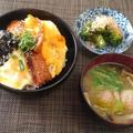忙しい時困った時のお助けメニュー☆蒲焼秋刀魚缶丼♪☆♪☆♪