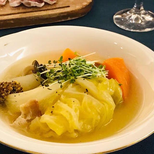 野菜の旨味いっぱいスープ