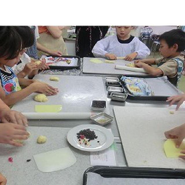 子供会でパン作り!!