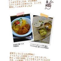 ナイル善己さん 第25回レシピブログキッチン  簡単で本格派☆南インドカレーディナー -3-
