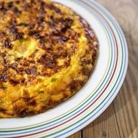 作り置きして朝食やお弁当にも!スパニッシュオムレツ。【#簡単レシピ #ダイエット #オムレツ】