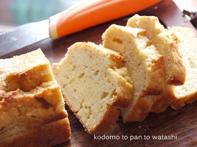 【手作りお菓子】冷凍バナナでバナナブレッド