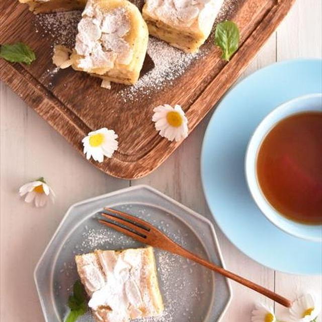 レンジで5分!リンゴの紅茶ガトーインビジブル