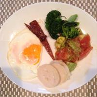 リプトンひらめき朝食  休日のブランチプレート