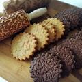 ローリングピンで型抜きクッキー 2