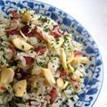 筍とコンビーフのシンプルイタリアン炒飯