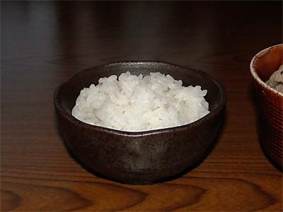 朱鷺と暮らす郷づくり認証米ご飯
