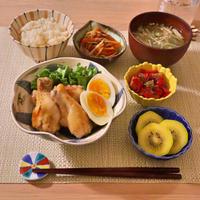 207.晩ごはんレシピ:手羽元と卵のすっぱ煮