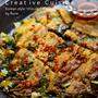 お肉がカリカリ☆ボーソー米油で作るチヂミ