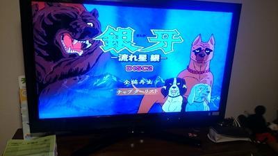 子供の頃見ていたアニメ 「銀牙」