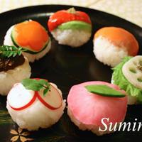 手まり寿司 マクロビオティックレシピ