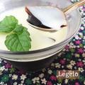 コーヒーゼリー☆ホワイトチョコミルクがけ♪ 超簡単※冷たいお菓子