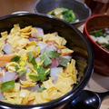 かぼす&すだちペーストで作るすし飯のちらし寿司
