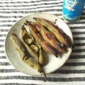 空豆のオーブン焼き