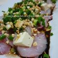 タイの中華風カルパッチョ