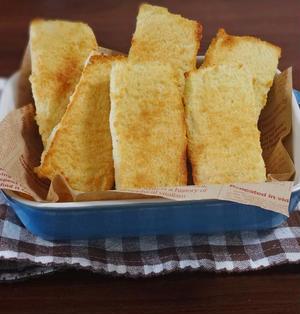 アーモンド&バターの味わいがたまらない!やみつきフィナンシェトースト