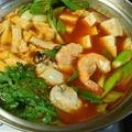 牡蠣と海老のキムチ鍋☆ by watakoさん