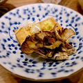焼き舞茸と厚揚げの生姜醤油