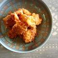 唐揚げ&自家製麺つゆで♪素麺