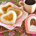 サンドでパンだ:わさびツナメルト&パン耳シュガーラスク (レシピ) by オチケロンさん