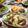 茹で鶏deおかずサラダ♪…品数減らして栄養素を補おう!