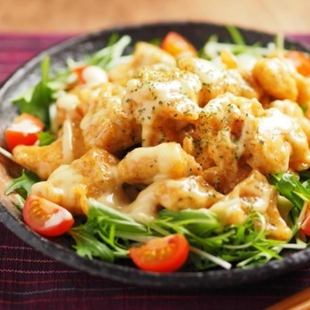 鶏むね肉のエビマヨ風・鶏マヨ