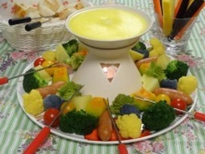 いつものトロケルチーズで簡単フォンデュ♡