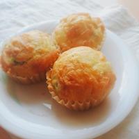 【甘くない食事系マフィン】朝ごはんにも♪枝豆チーズマフィン