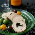 ワイン呑み用備蓄、ペッパー鶏ハム。