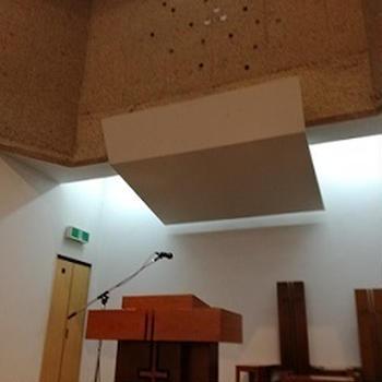 音響が素晴らしい教会
