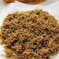 フライパンで作る自家製「ちりめん山椒」