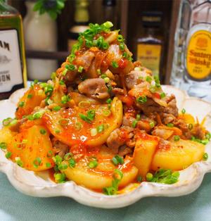 【レシピ】ご飯がススム!大根豚キムチ!