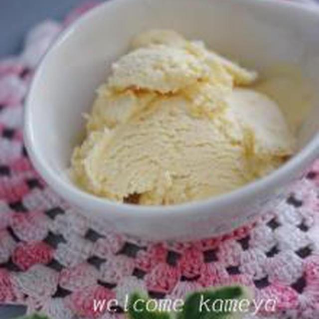 ★ 簡単!卵不使用の手づくりアイスクリーム