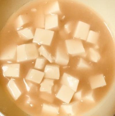 母親のやわらか介護食・嚥下食にクリームシチュー豆腐