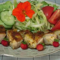 鶏もも肉のカレー風味ソテー・GABANスパイスモニター