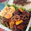 鶏と野菜の黒酢あん風