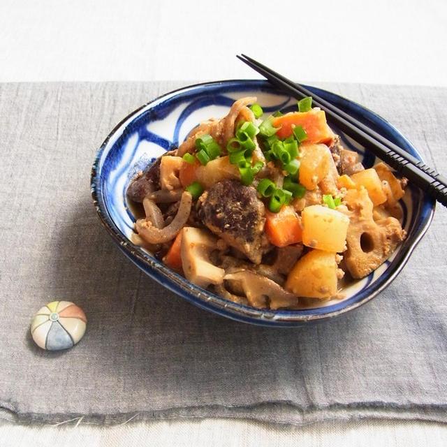 掲載 ☆ Nadia(ナディア) 旬のレシピ ~ 味噌ごま根菜