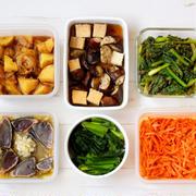 58分で6品!小松菜のお弁当おかず中心。作り置きレシピ一週間と簡単常備菜レポート(2020年5月31日)