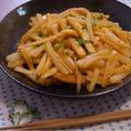 ダイエットメニュー大根と高野豆腐のピリ辛味噌炒めと昨日の夕ご飯!初めての胎動!