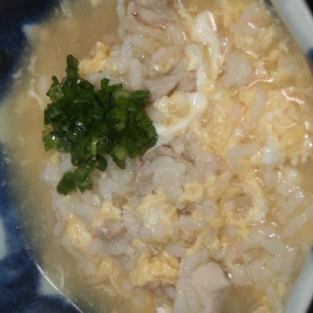 11月20日  鶏の親子雑炊
