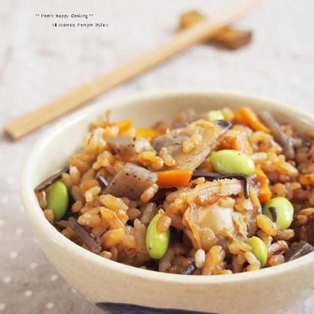 食宣伝com. あさりの炊き込みご飯。