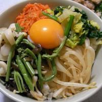 山菜ビビンバ丼
