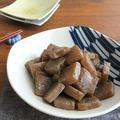 材料1つで簡単和総菜◎こんにゃくのバター醤油炒め