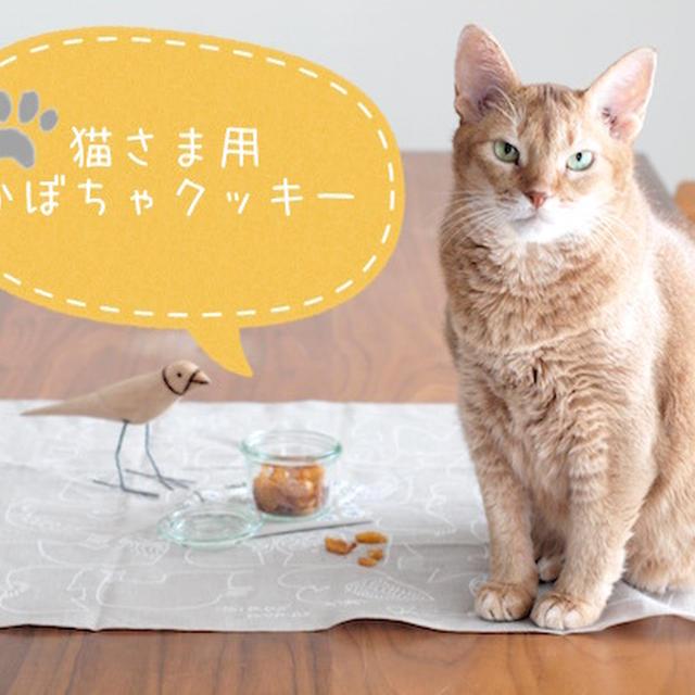 【猫様用おやつ】かぼちゃのしっとりクッキーレシピ