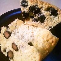 黒豆の米粉ケーキ