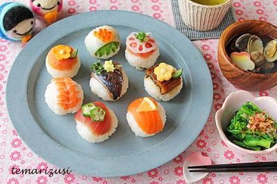 ひなまつりに手まり寿司からチラシ寿司、寿司ケーキなど6品お寿司集めました!