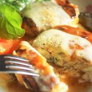 ■作り置き冷凍保存品【Wチーズの鶏つくねバーグ】餡かけスタイル。